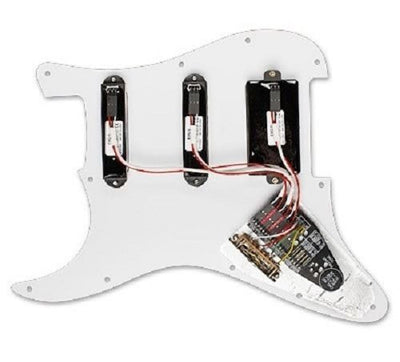 NEW! EMG KH20 KIRK HAMMETT PRE-WIRED PICKGUARD/PICKUP SET BLACK Free Shipping