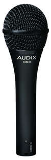 NEW Audix OM3 Dynamic Hypercardioid Handheld Vocal Microphone Fast Shipping