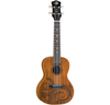 Luna Guitars Tattoo Concert Mahogany Ukulele (INCLUDED GIG BAG)FAST SHIPPING