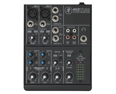 Brand New Mackie 402VLZ4 Compact Mixer Fast Shipping