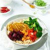 Moroccan Chicken Buddha Bowl