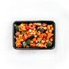 Warm Spiced Chickpea Moroccan Salad