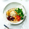 Lean + Tone Moroccan Chicken Buddha Bowl