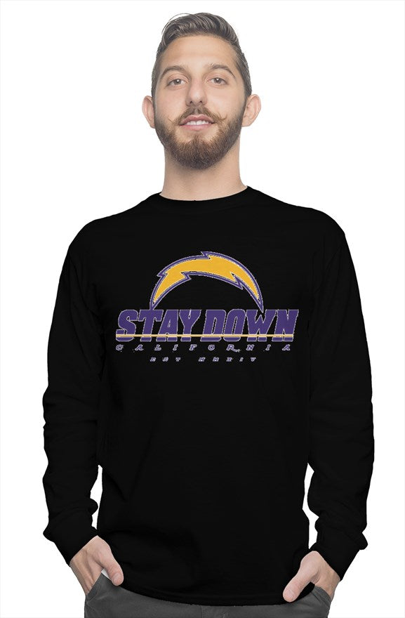 MENS LONG SLEEVE BOLTGANG TSHIRT