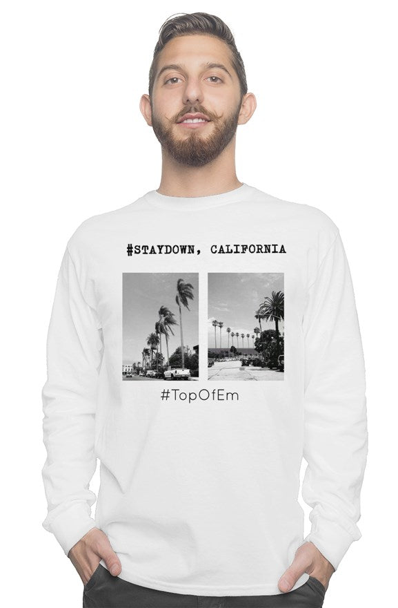 MENS STAYDOWN, CALIFORNIA HOODIE