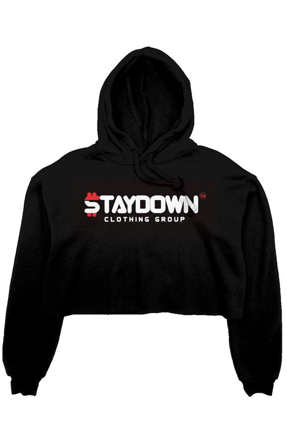 OWN LADIES CROP TOP HOODIE