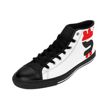 DOLLAR SIGN HIGH-TOP SNEAKERS