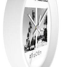 STAYDOWN, CALIFORNIA WALL CLOCK