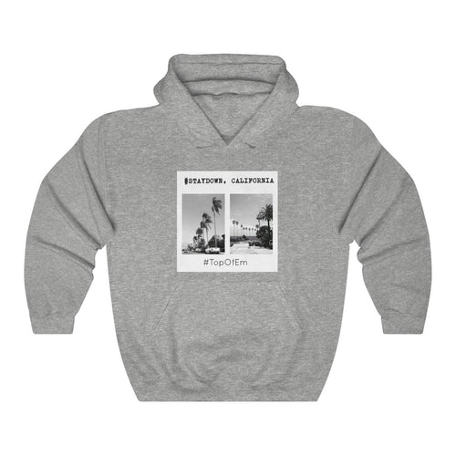 STAYDOWN, CALIFORNIA HOODIE