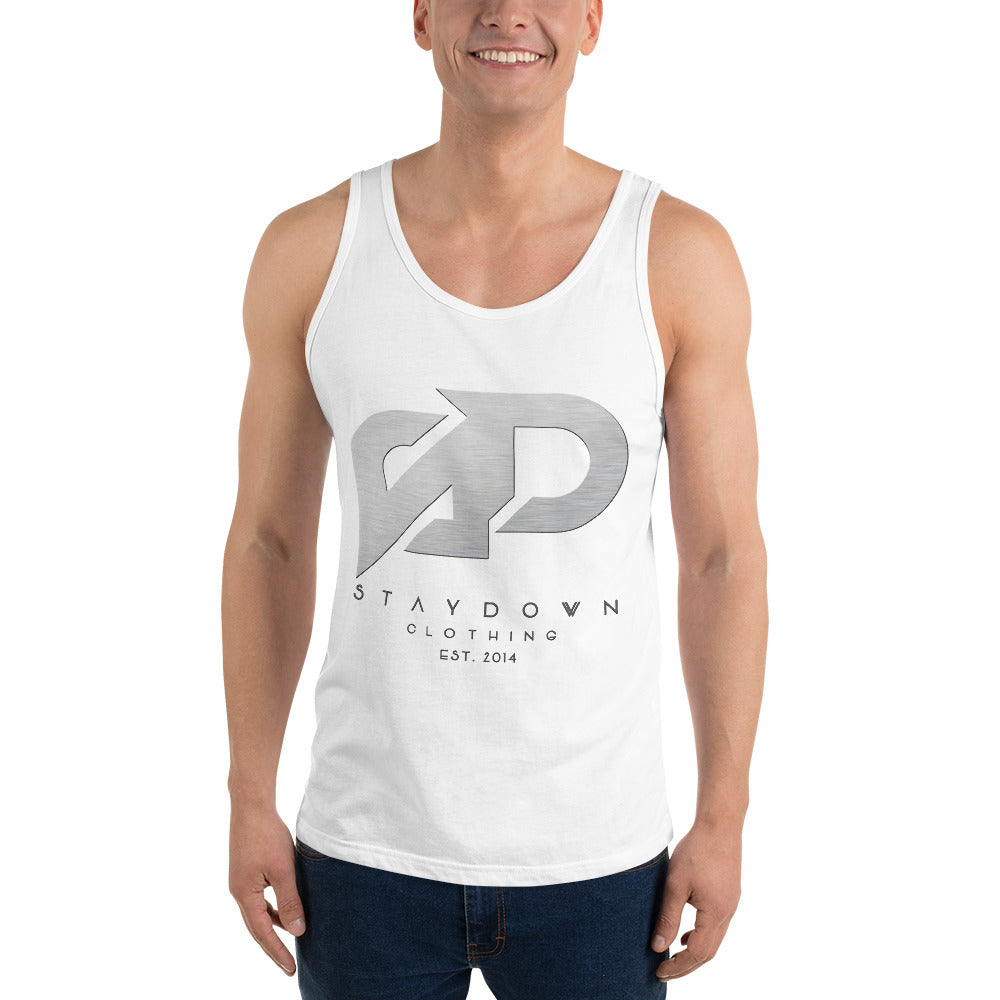 BRUSH FINISH TANK TOP