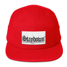 OLD ENGLISH FIVE PANEL CAP