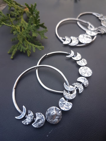 Moon Phase Hoops