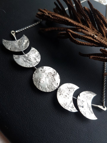 Statement Moon Phase Necklace
