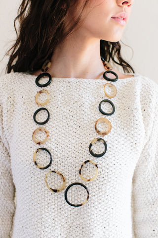 Inyambo Horn Necklace