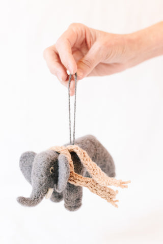 Ellie Elephant Ornament