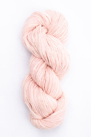 Organic Angora and Merino Blend, Cochineal Blush