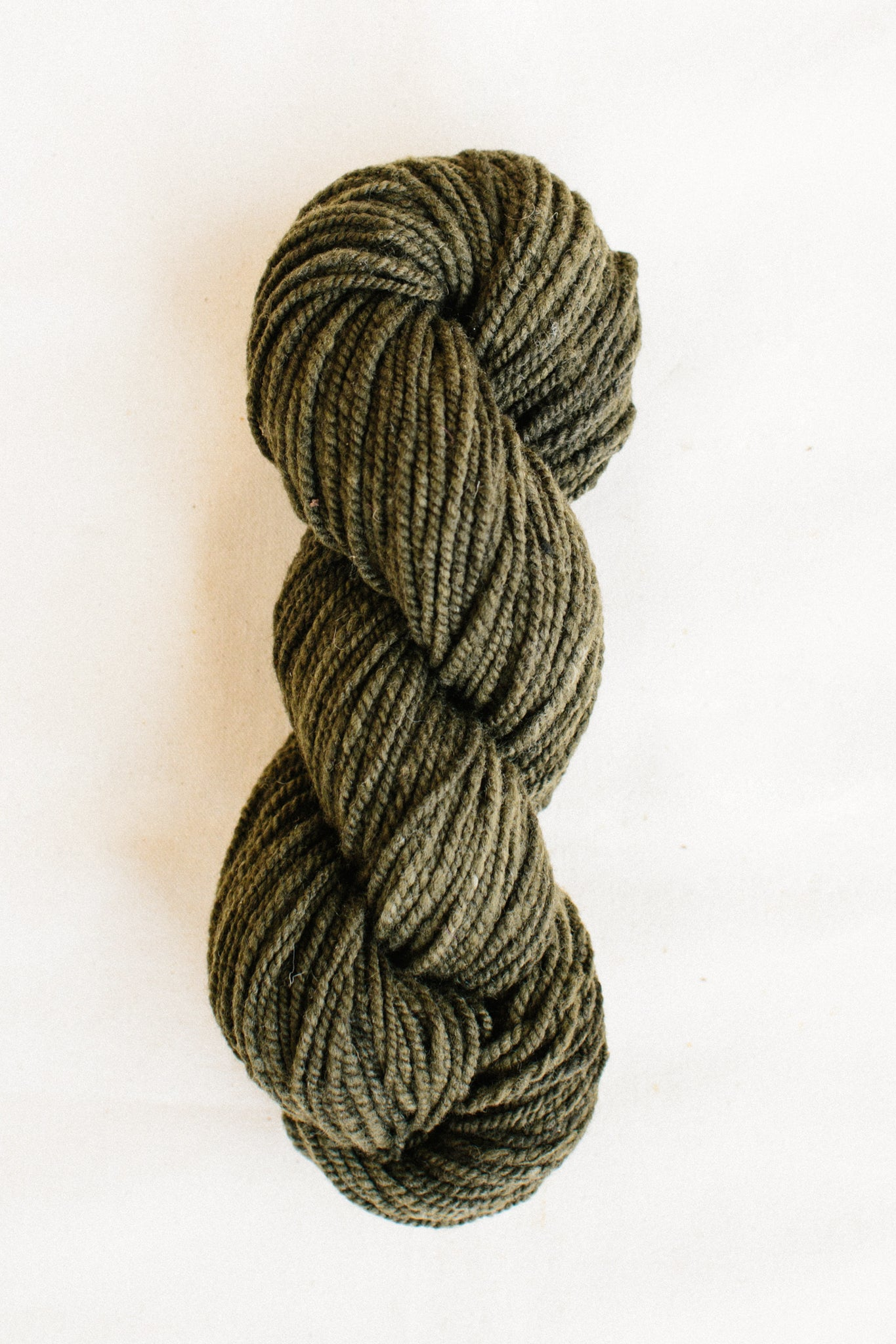 Organic Merino Wool Worsted, Rich Topiary