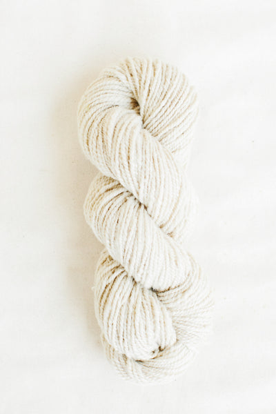 Organic Merino Wool Worsted, Natural