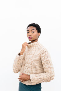 Vincentia Chunky Cable Sweater