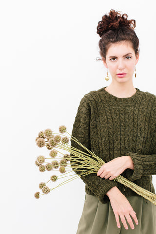 Clema Cable Sweater