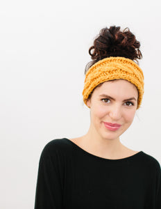 Odette Cabled Headband Pattern
