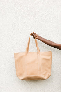Nyra Shoulder Bag Natural