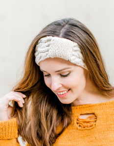 Head Wrap - 100% Organic Hand-Knit Merino Wool