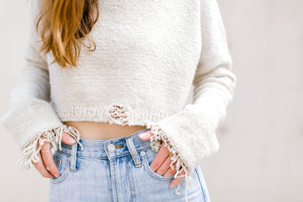 Marguerite Crop Sweater