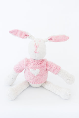 Esther Bunny with a Heart Sweater