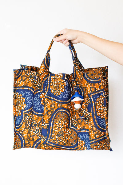 Kitenge Shopping Tote, Amour