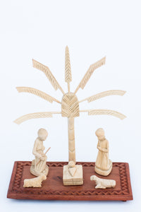 Holy Family with Travelers Palm