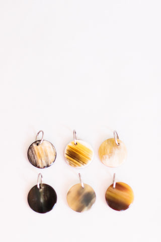 Cow Horn Stitch Markers