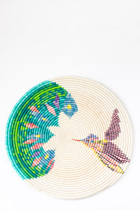 Hummingbird Wall Disc