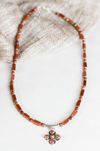 Diani Precious Stones Necklace, Sunstone