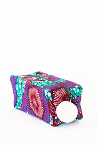 Kitenge Zipper Case, Morning Glory
