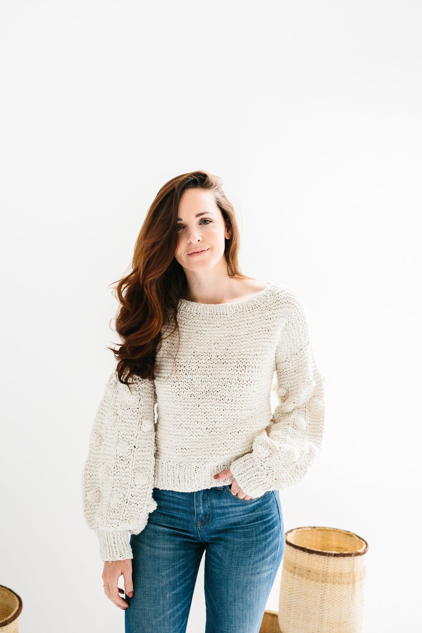 Clementine Sweater in Ethiopian Cotton