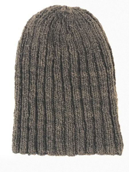 Fisherman Hat - 100% Organic Hand-Knit Merino Wool