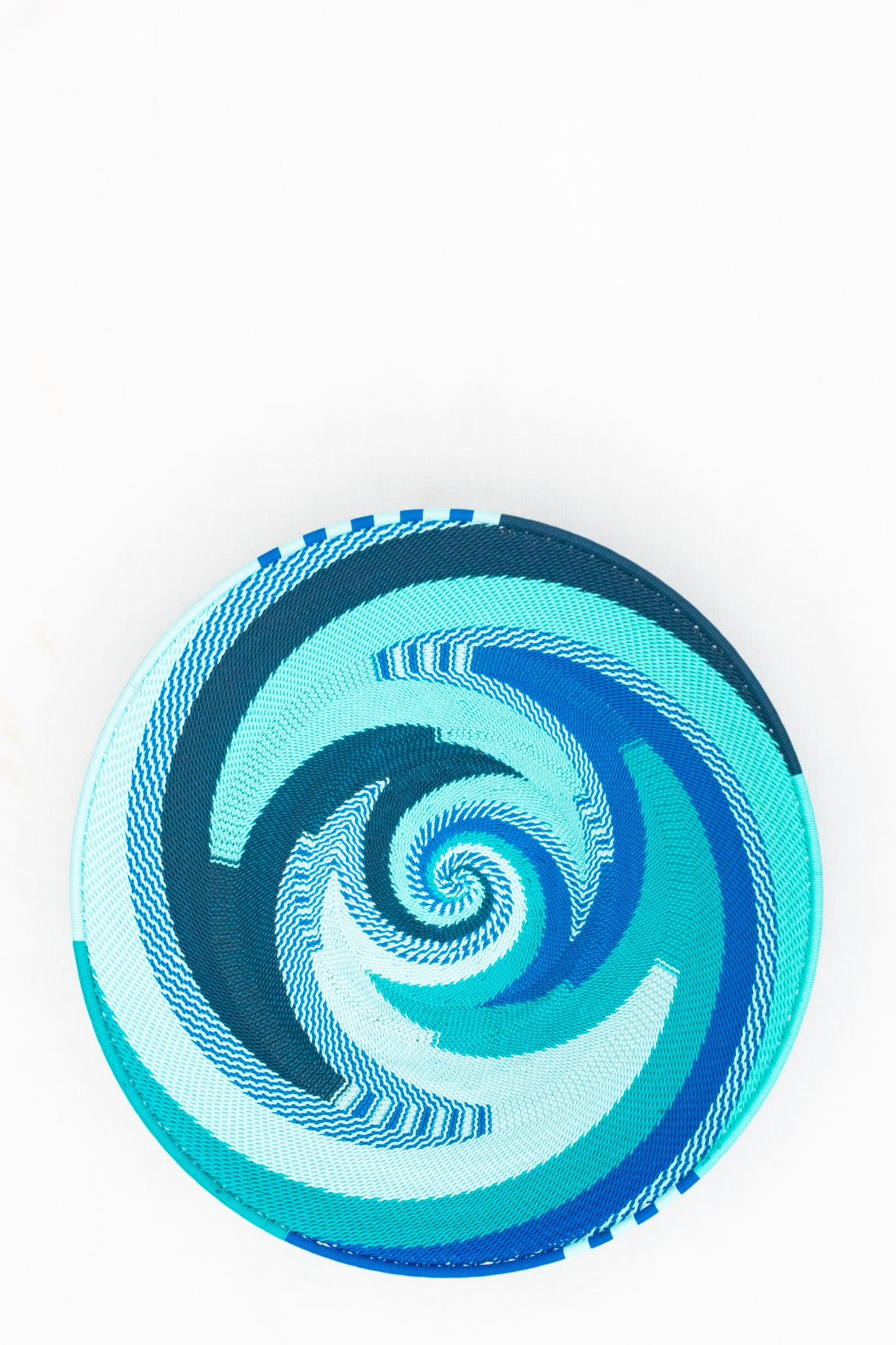 Telephone Wire Basket, Sea Swirl