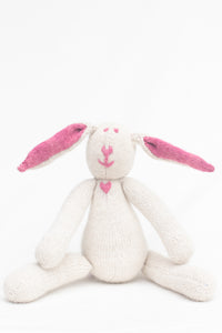 Esther Angora Bunny Cochineal