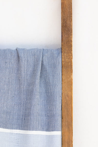 Handwoven Bath Sheet, Granite