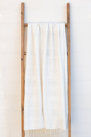 Handwoven Bath Sheet, Natural