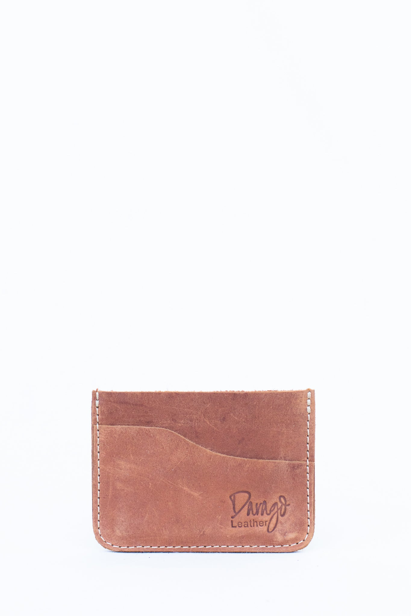 Leather Card Holder, Copper