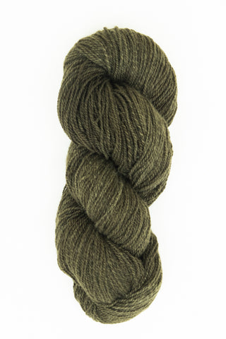 Organic Angora and Merino Blend, Rich Topiary