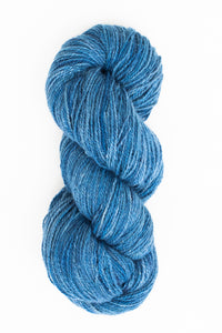 Organic Angora and Merino Blend, Indigo