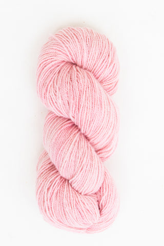 Organic Angora and Merino Blend, Cochineal