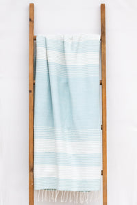 Handwoven Bath Sheet, Mist