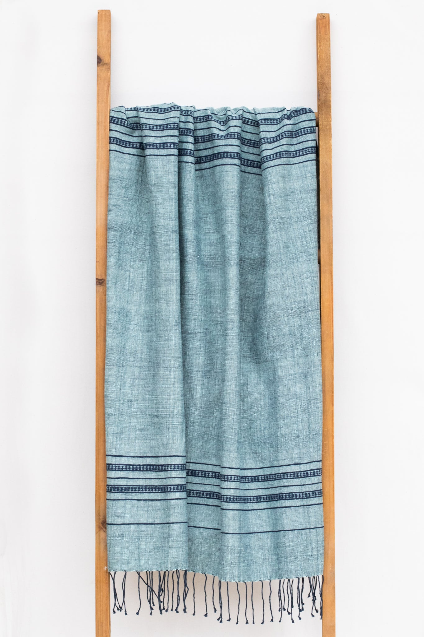 Handwoven Bath Sheet, Labradorite