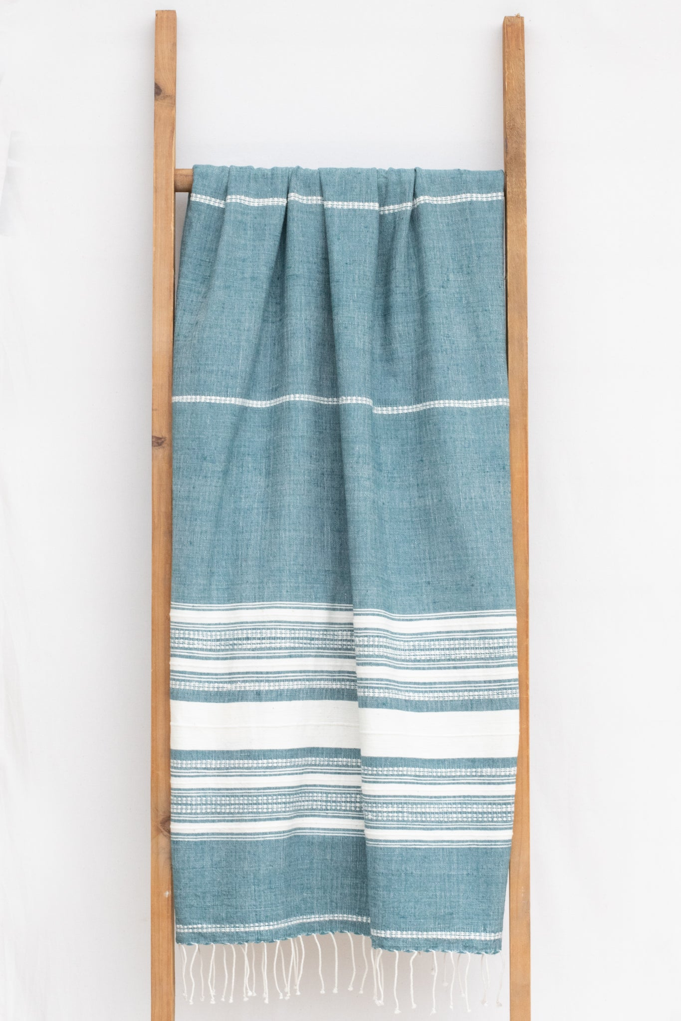 Handwoven Bath Sheet, Apatite