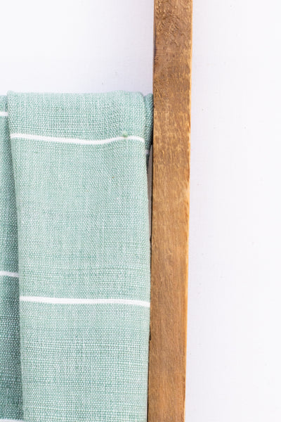 Handwoven Bath Sheet, Malachite