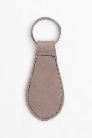 Leather Key Fob, Taupe